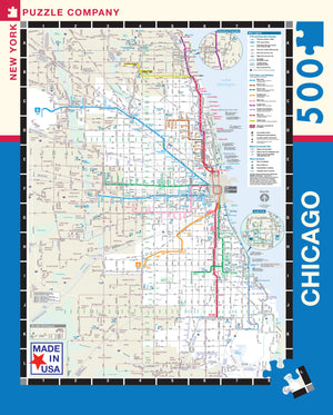 Chicago Transit Map