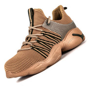 Puncture-Proof Work Sneakers Breathable Shoes - quixique