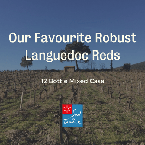 12 Bottle Mixed Case: Our Favourite Robust Languedoc Reds - Pierre Hourlier Wines