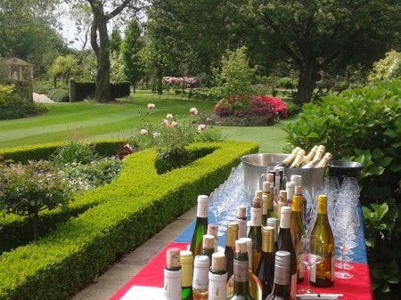 Event Ticket: Wine Tasting and Garden Party at the Burrows Gardens 14/07/19