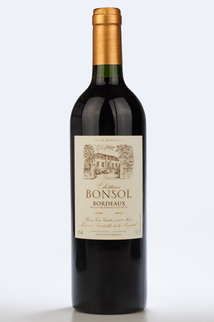 Bordeaux: Chateau Bonsol Red 2014 - Pierre Hourlier Wines