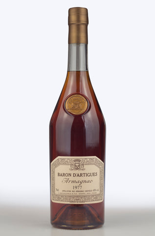 Armagnac: Baron d'Artigues 1977 - Pierre Hourlier Wines