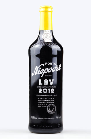 Vintage Port: Niepoort LBV Late Bottled Vintage 2012 - Pierre Hourlier Wines