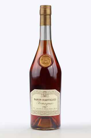 Armagnac: Baron d'Artigues 1967 - Pierre Hourlier Wines