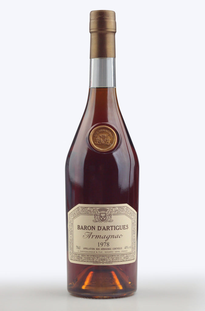 Armagnac: Baron d'Artigues 1978 - Pierre Hourlier Wines