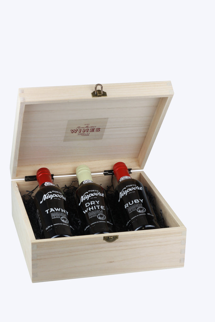 Niepoort 3 Bottle Taster Gift Set - Pierre Hourlier Wines