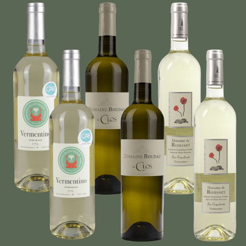 6 Bottle Mixed Case: Vermentino Selection