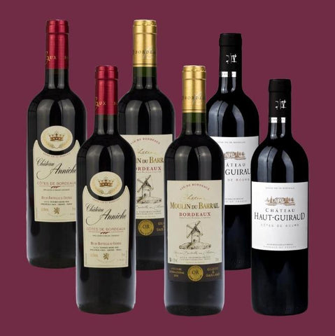 6 Bottle Mixed Case: Bordeaux Reds - Pierre Hourlier Wines