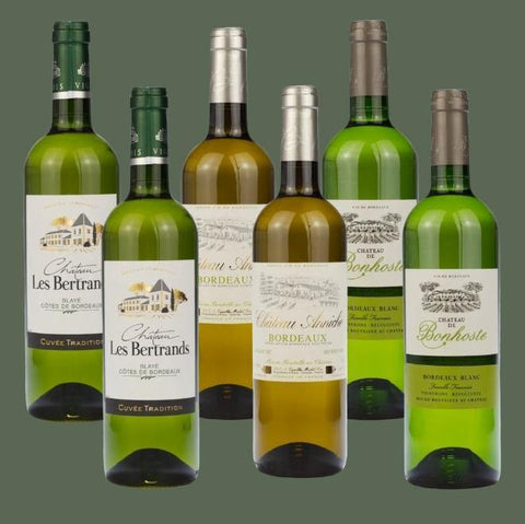 6 Bottle Mixed Case: Bordeaux Whites - Pierre Hourlier Wines