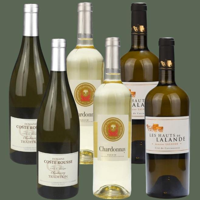 6 Bottle Mixed Case: Chardonnay Selection - Pierre Hourlier Wines