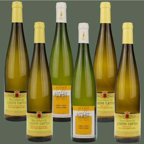 6 Bottle Mixed Case: Alsace Grand Cru Selection - Pierre Hourlier Wines