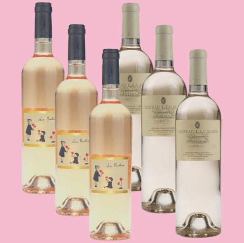6 Bottle Mixed Case: Provence Rose Selection - Pierre Hourlier Wines