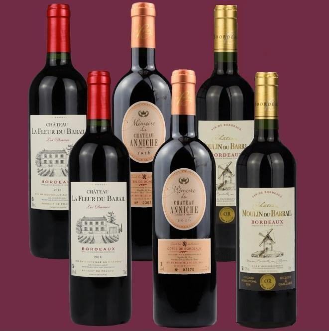 6 Bottle Mixed Case: Bordeaux Selection 1