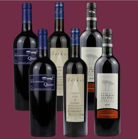 6 Bottle Mixed Case: Bordeaux Selection - Pierre Hourlier Wines