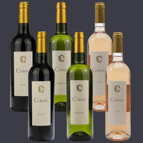 6 Bottle Mixed Case: Chateau de Cointes Mixed - Pierre Hourlier Wines