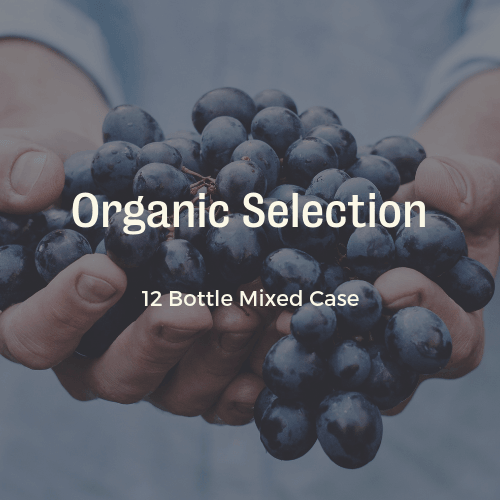 12 Bottle Mixed Case: Organic Wines