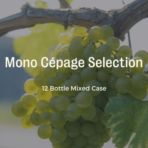 12 Bottle Mixed Case: Mono-Cepage Single Grape Wine