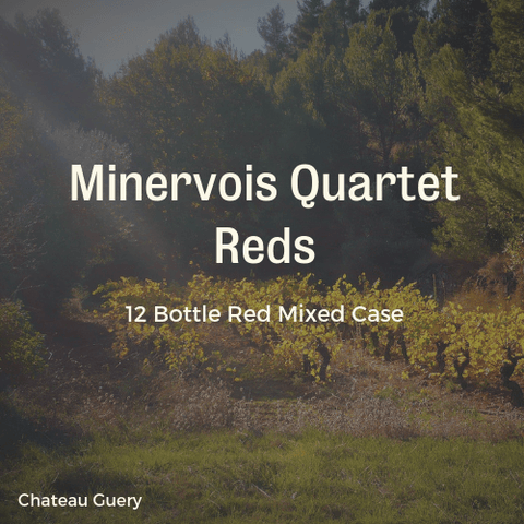 12 Bottle Mixed Case: The Minervois Quartet Reds - Pierre Hourlier Wines