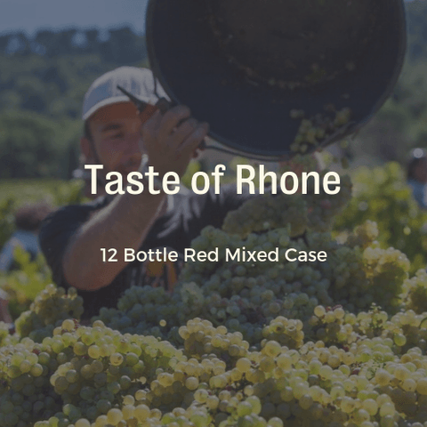 12 Bottle Mixed Case: A Taste of Rhone - Pierre Hourlier Wines
