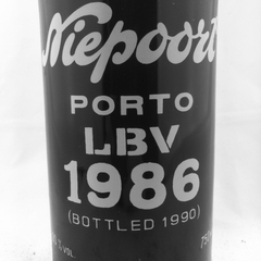Vintage Port: Niepoort LBV Late Bottled Vintage 1986