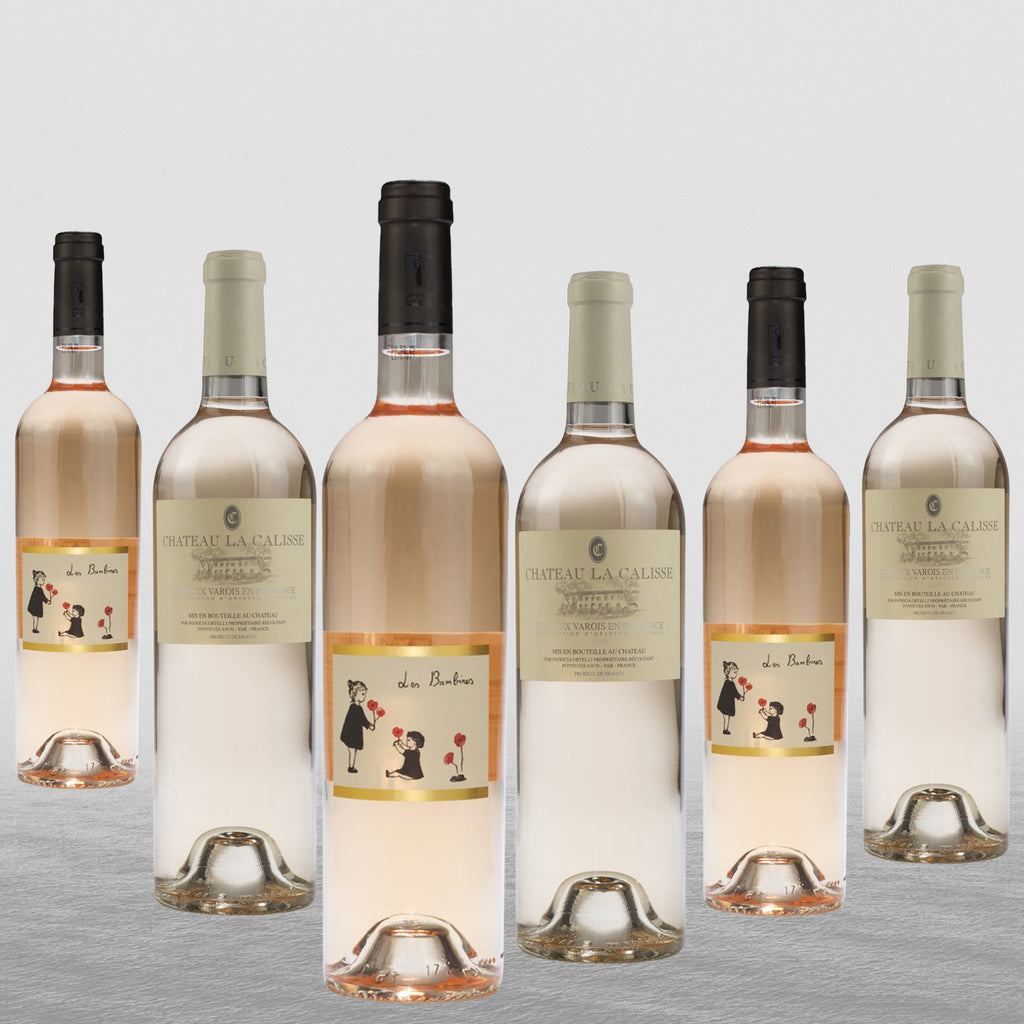 6 Bottle Mixed Case: Provence Pale Rose - Pierre Hourlier Wines