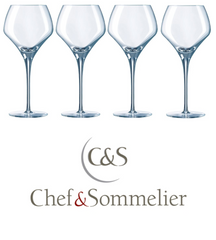 Chef and Sommelier Open Up Round Wine Glasses - Pierre Hourlier Wines
