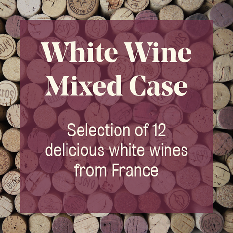 12 Bottle Mixed Case: French White Wine - Pierre Hourlier Wines