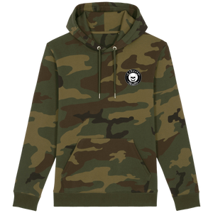 Sweat à capuche Camouflage Liberty Skulls - Brand - - Broderie - - Liberty Skulls