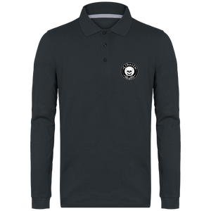 Polo Manches Longues Homme Liberty Skulls - Brand - - Broderie - - Liberty Skulls