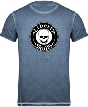 Load image into Gallery viewer, T-shirt  HOMME Liberty Skulls Brand - Coton - - Liberty Skulls