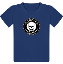 Load image into Gallery viewer, T-shirt ENFANT Liberty Skulls Brand - Coton - - Liberty Skulls
