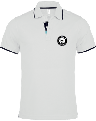 Polo Homme Col Liseré Liberty Skulls Brand - Broderie - - Coton - - Liberty Skulls