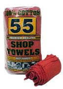 Shop Towels, Cotton 50 Ea/Pk
