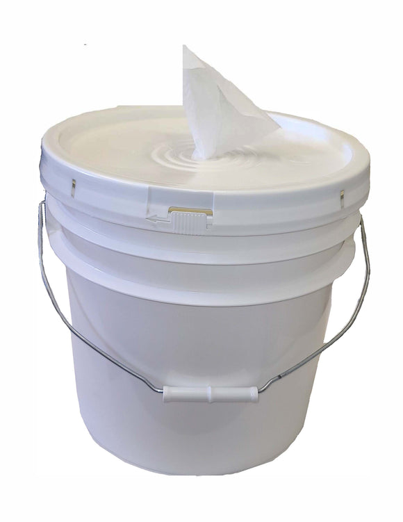 3 Gal Plastic Bucket Wipe Dispenser