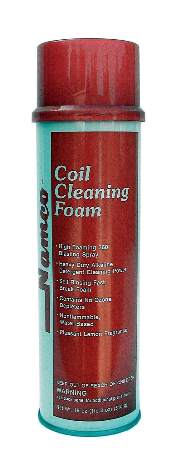 A/C Coil Cleaning Foam, 18 oz Aerosol