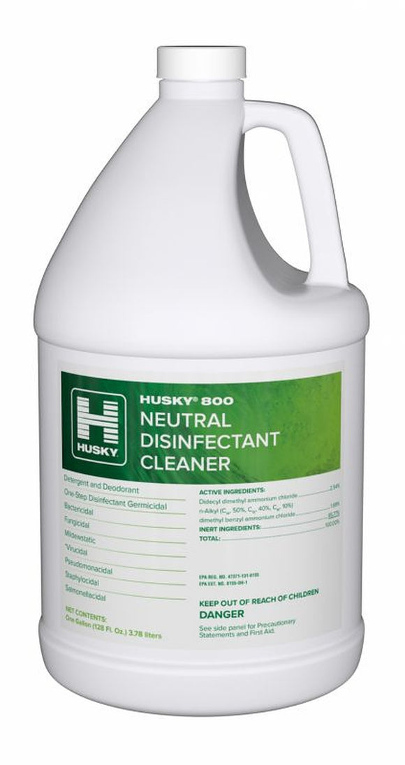 Husky 800 Neutral Disinfectant Cleaner