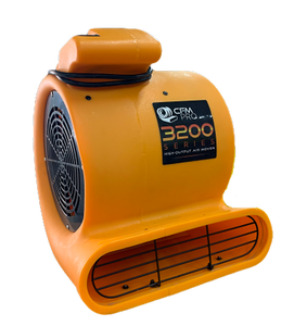 Air Mover Carpet Blower 3 Speed, 1/2 Hp