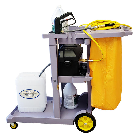 Mobile Disinfecting Cart, Battery Operated