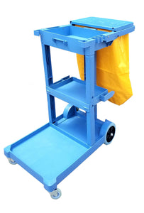 Maid Cart with Vinyl Bag