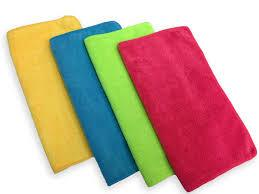 MicroFiber Cloth Towels, 12 Ea/Pk