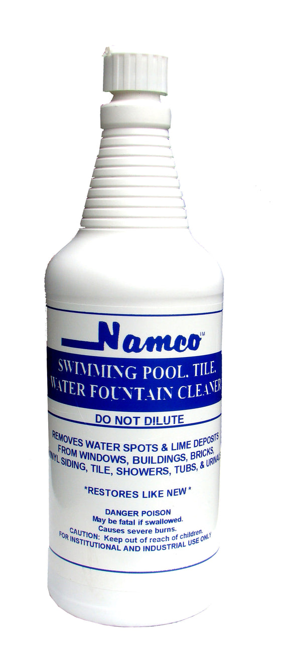 Swimming Pool, Tile, Water Fountain Cleaner, 32 oz bottle