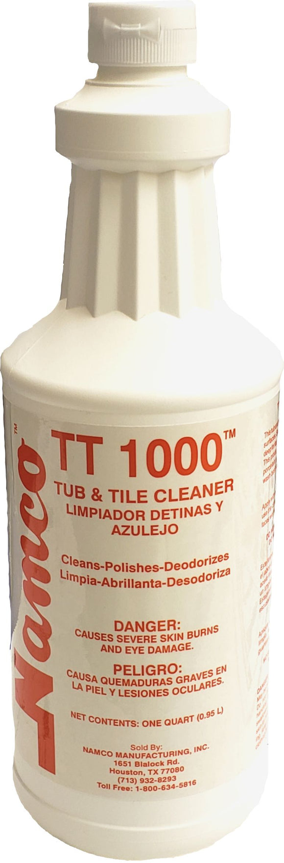 Super TT-1000 Fiberglass Cleaner, 12 Qt/Cs
