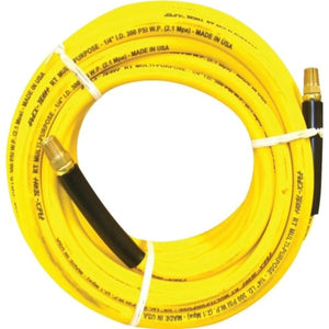 "Yellow Solution Hose, 1'4"" LP 400 PSI"