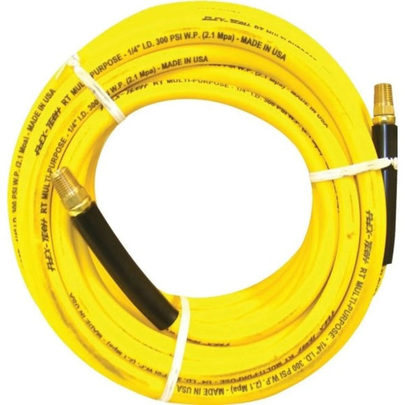 Yellow Solution Hose, 1'4