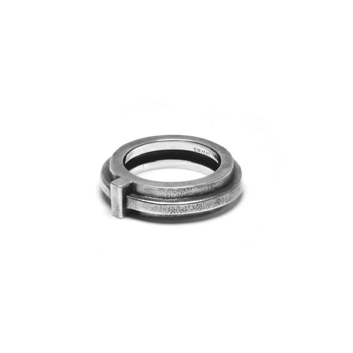 DRAUG Jewelry 925 Solid Silver Atrium Ring