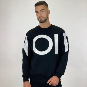 NOIR Large Print Sweater