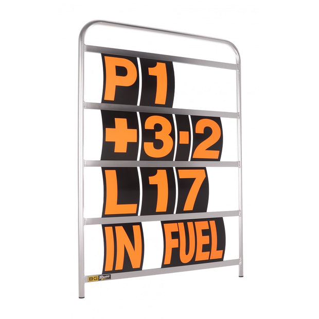Large Anodised Aluminium Pit Board Kit