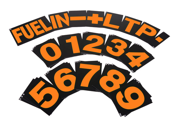 Large Pit Board Number Set
