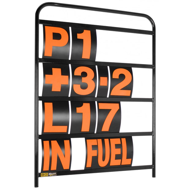 Large Black Aluminium Pit Board Kit