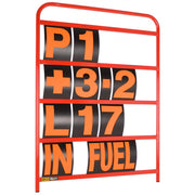 Standard Red Aluminium Pit Board Kit